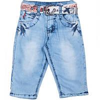 Модные джинсовые бриджи для мальчиков