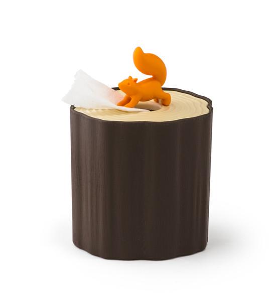 Салфетница Qualy Squirrel Tissue Log