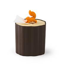 Диспенсер бумажных салфеток Squirrel Tissue Log Qualy