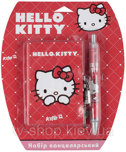 Блокнот на замке с ручкой Hello Kitty