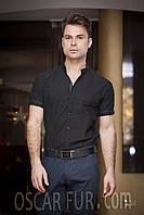 Рубашки однотонные с коротким рукавом, фото 1