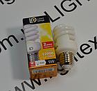Энергосберегающая лампа LightOffer  9W E27 4000K, фото 3