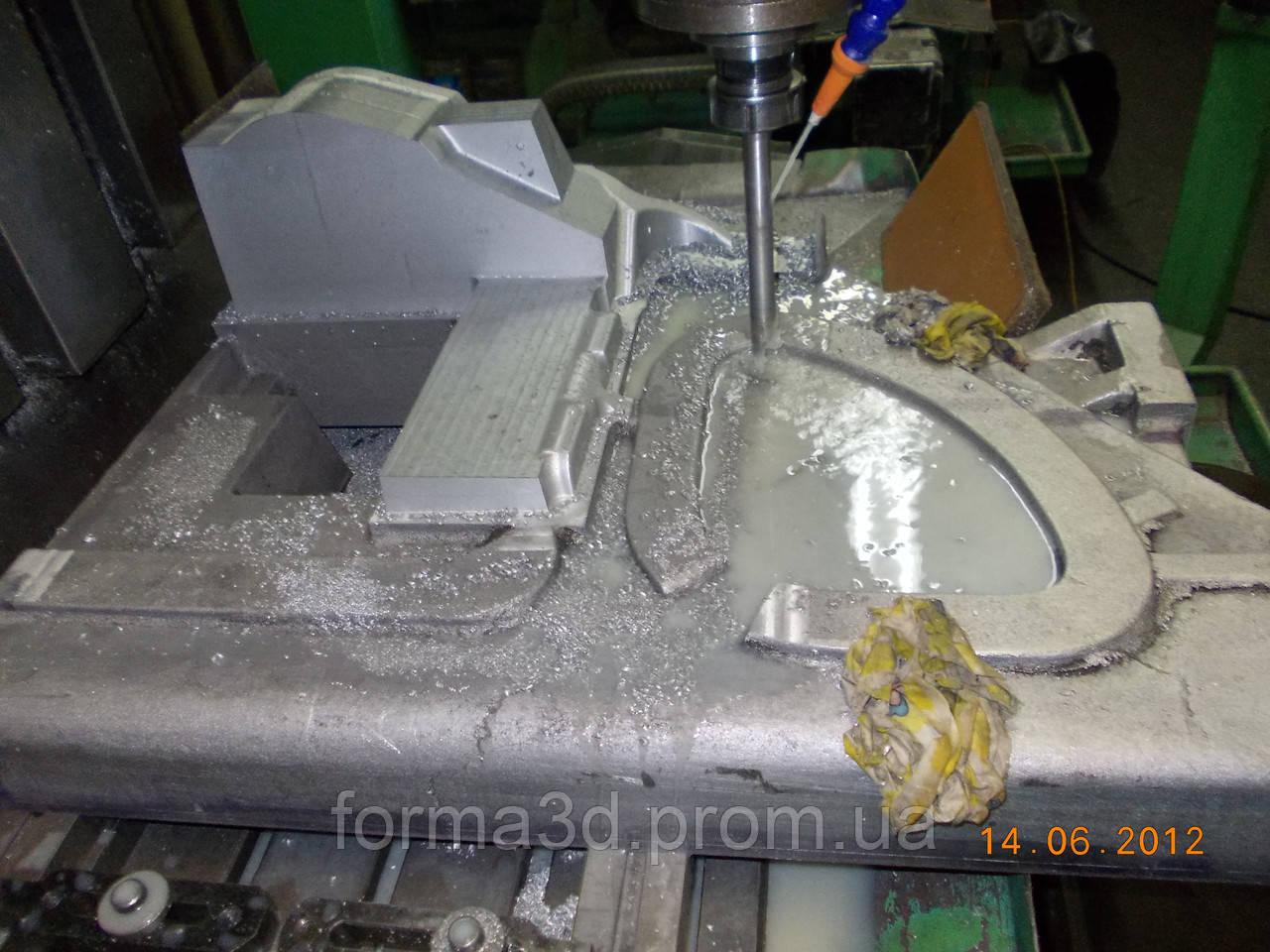 Обработка деталей на фрезерных станках с ЧПУ