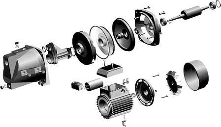 Рабочее колесо JET PL 80/100 Технополимер (Запчасть), фото 2