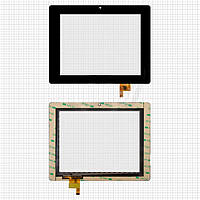 Touchscreen (сенсорный экран) для Teclast P85A/P85HP, 6 pin, оригинал (черный)