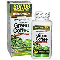 Зеленый кофе, экстракт, Purely Inspired, 800 мг, 100 таблеток