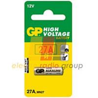 Батарейка GP Alkaline А27, MN27, EL812, 12V