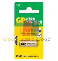 Батарейка GP Alkaline А23, VA23GA, MN21, 12V