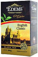 """Чай черный Едемс """"Інгліш Класік"""" 100г +ложка"""