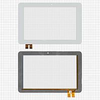 Touchscreen (сенсорный экран) для Window N101, 78 pin, оригинал (белый)