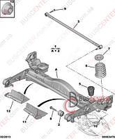 """Отбойник задней балки (""""под пружину - металлическая подвеска"""" упругая пробка """"1 шт"""") Fiat Scudo (2007-……) 1400618180 PEUGEOT 5166 84"""