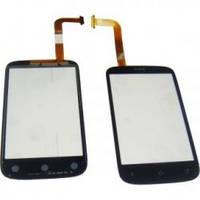 Сенсорный экран для мобильного телефона HTC A320 Desire C, PL01100 черный
