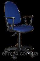[ Кресло Jupiter GTP sonata C-27 Blue + Подарок ] Офисное кресло для персонала ткань Cagliari синий