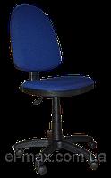 [ Кресло Prestige GTS C-27 Blue + Подарок ] Офисное кресло для персонала ткань Cagliari синий
