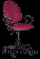 [ Кресло  Victory GTP-4 C-29 + Подарок ] Офисное кресло для персонала ткань Cagliari бордовый
