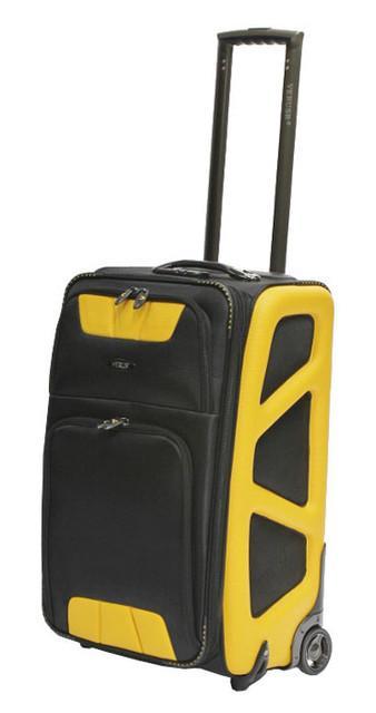 Чемодан средний на 2-х колесах VERUS Monte Carlo MC.24.yellow 68 л