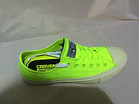 Кеды Converse All Star Original 2 салатовые