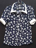 Блуза детская из натуральной ткани, рост 122-146 (225/195)
