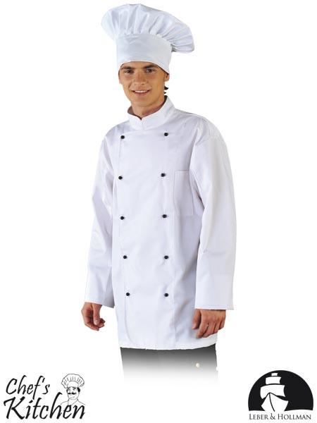 Кітель кухарський білий з лінії Chef's Kitchen Lebber&Hollman (форма для харчової промисловості) LH-CHEFER W