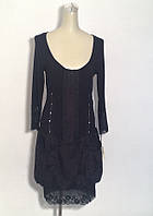 Платье Lasagrada на молнии черное баллон