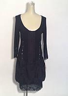 Платье Lasagrada на молнии черное баллон, фото 1