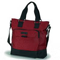 Молодежная сумка повседневная, бордовый