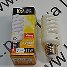 Энергосберегающая лампа LightOffer  15W E27 4000K, фото 2