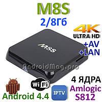 M8S Amlogic S812 IPTV Smart TV Google TV Box Android 4.4