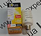 Энергосберегающая лампа LightOffer  20W E27 4000K, фото 2