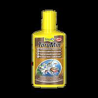 Кондиционер с экстрактом гуминовых кислот Tetra Aqua ToruMin 250 ml на 500 л.