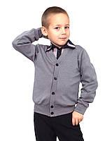 """Джемпер для мальчика трикотажный М-971 рост 116-152 тм """"Попелюшка"""", фото 1"""