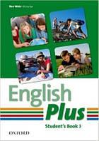 English Plus 3 Student's Book (Учебник/підручник по английскому языку, уровень 3)