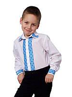 Рубашка детская для мальчиков  М-965 рост 110-152, фото 1
