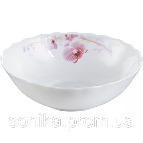 Салатник 6 Рожева орхідея