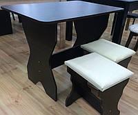 Кухонный стол КС-1 маленький нераскладной
