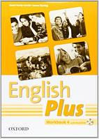 English Plus 4 Workbook with MultiROM (рабочая тетрадь/зошит по английскому языку, уровень 4)