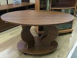 Журнальный столик Венеция-2 из ДСП, низкий, фото 2