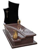 Пам'ятник з букинського габро та токівського граніту, фото 1