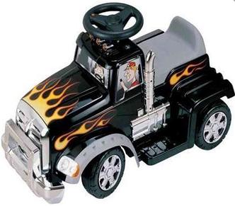 Электромобиль, машина каталка  SC-879A-BLACK грузовик