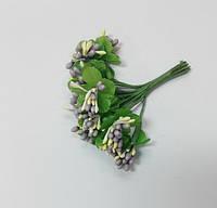 Букет тычинки с листиками 1