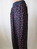 Штапельные брюки большого размера, фото 2