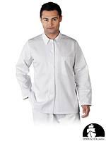 Защитная блуза с длинными рукавами, застегивающаяся LH-FOOD_JBU W
