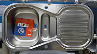 Мойка кухонная из нержавеющей стали Franke TAL - 684 декор, фото 1