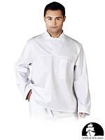 Защитная блуза без пуговиц LH-FOOD_JWB W