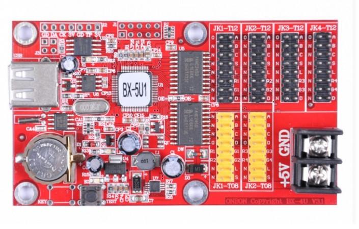 Контроллер для led P10 дисплея BX5u1 USB - Ledcorp светодиодное освещение в Одессе