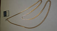 Золотая цепь 585 пробы, плетение бисмарк, 60 см