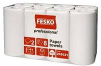 """Рушник паперовий """"Рута"""" FESKO 8шт Professional (12,5м) 190 відривів/-100/4"""