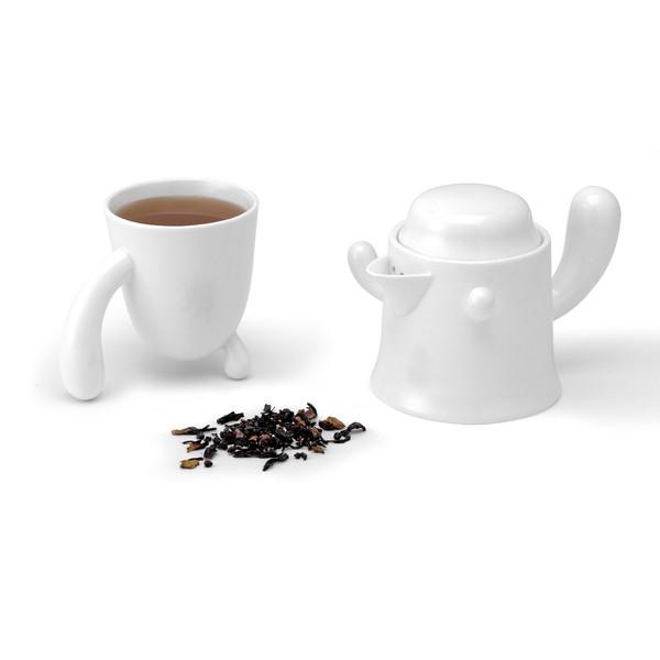 Чашка и заварочный чайник PO: Selected Cactus Tea for One