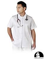 Блуза защитная с коротким рукавом, застегивающаяся LH-HCL_JSSBU W