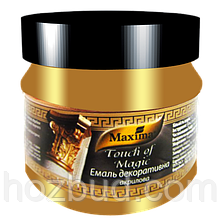 Эмаль декоративная акриловая Maxima серебро 0,1 кг